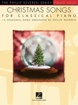 cover image of Christmas Songs for Classical Piano