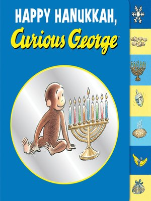 cover image of Happy Hanukkah, Curious George