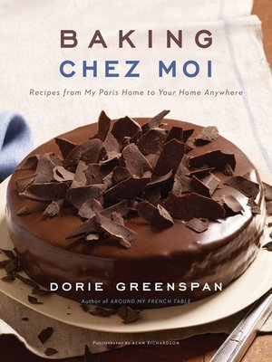 cover image of Baking Chez Moi
