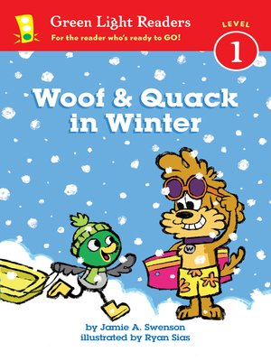cover image of Woof and Quack in Winter
