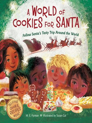cover image of A World of Cookies for Santa