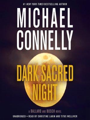 cover image of Dark Sacred Night