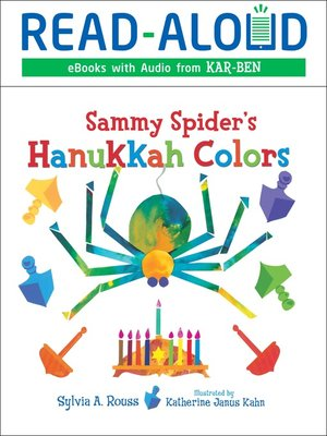 cover image of Sammy Spider's Hanukkah Colors