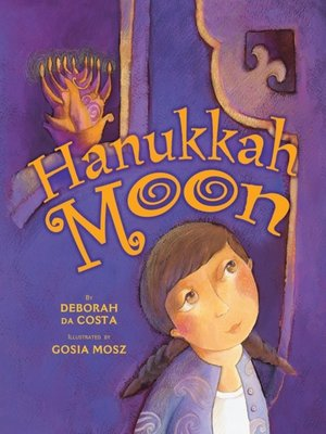 cover image of Hanukkah Moon