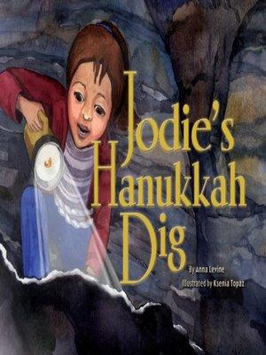 cover image of Jodie's Hanukkah Dig