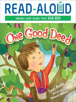 cover image of One Good Deed