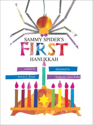 cover image of Sammy Spider's First Hanukkah