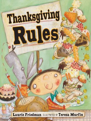 cover image of Thanksgiving Rules