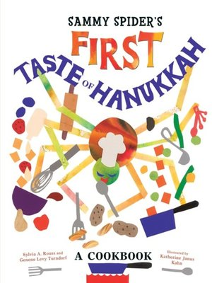 cover image of Sammy Spider's First Taste of Hanukkah