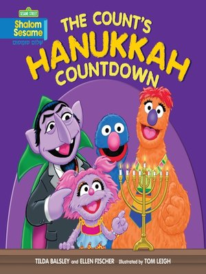 cover image of The Count's Hanukkah Countdown