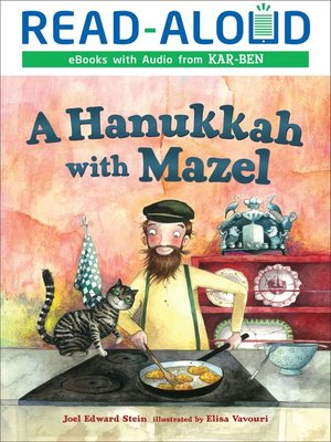 cover image of A Hanukkah with Mazel