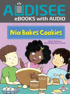cover image of Nia Bakes Cookies