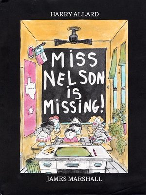 cover image of Miss Nelson Is Missing