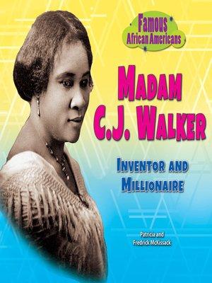 cover image of Madam C.J. Walker