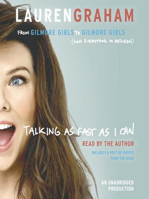 cover image of Talking as Fast as I Can
