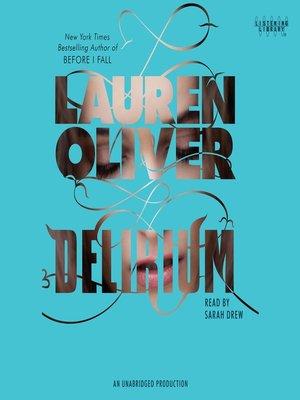 cover image of Delirium