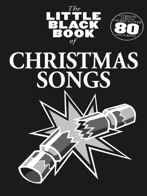 cover image of The Little Black Book of Christmas Songs