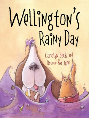 cover image of Wellington's Rainy Day