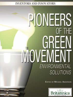 cover image of Pioneers of the Green Movement