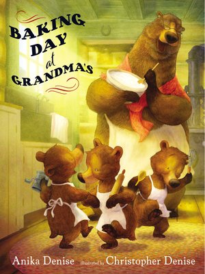 cover image of Baking Day at Grandma's