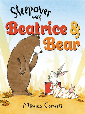 cover image of Sleepover with Beatrice and Bear