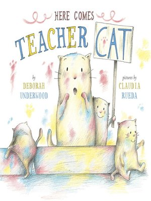 cover image of Here Comes Teacher Cat