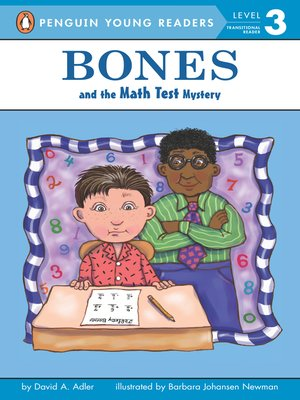 cover image of Bones and the Math Test Mystery