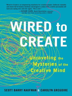 cover image of Wired to Create