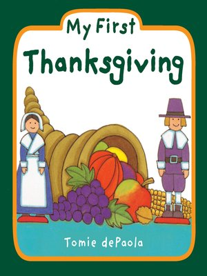 cover image of My First Thanksgiving