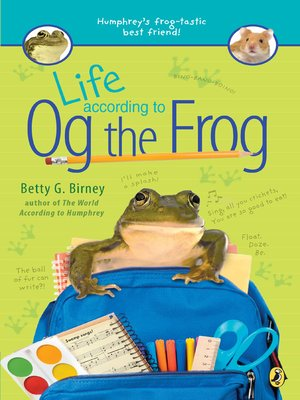 cover image of Life According to Og the Frog