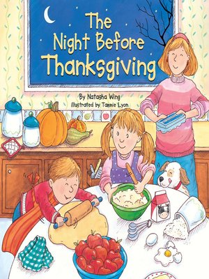cover image of The Night Before Thanksgiving