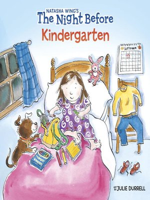 cover image of The Night Before Kindergarten