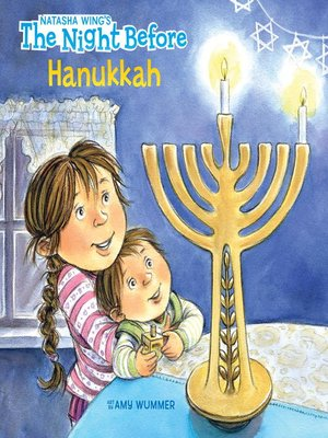 cover image of The Night Before Hanukkah
