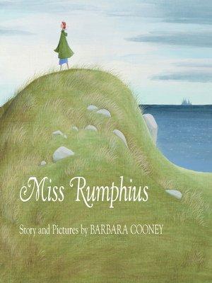 cover image of Miss Rumphius