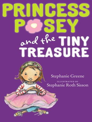 cover image of Princess Posey and the Tiny Treasure