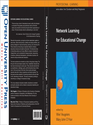 cover image of Network Learning For Educational Change