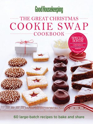 cover image of Good Housekeeping the Great Christmas Cookie Swap Cookbook