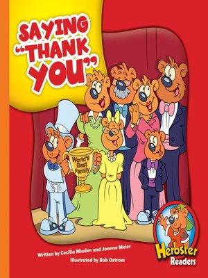 cover image of Saying 'Thank You'