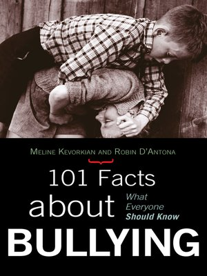 cover image of 101 Facts about Bullying