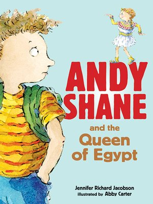 cover image of Andy Shane and the Queen of Egypt