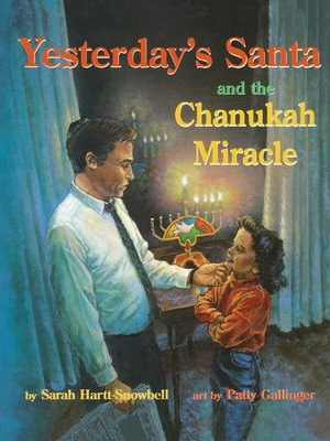 cover image of Yesterday's Santa and the Chanukah Miracle