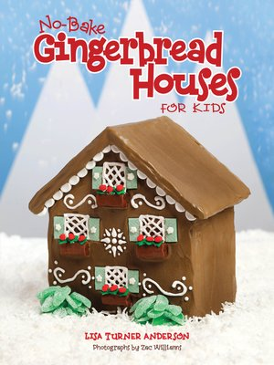 cover image of No-Bake Gingerbread Houses for Kids