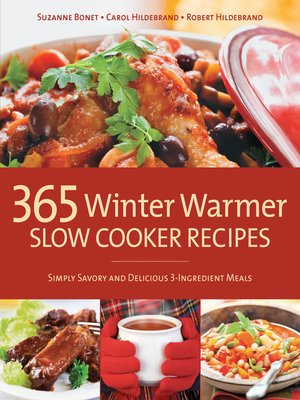 cover image of 365 Winter Warmer Slow Cooker Recipes