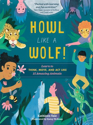 cover image of Howl like a Wolf!