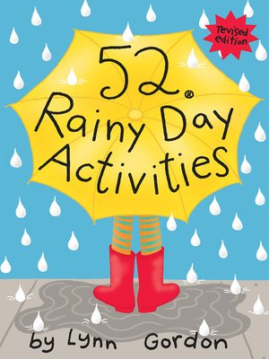 cover image of 52® Rainy Day Activities