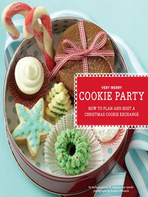 cover image of Very Merry Cookie Party
