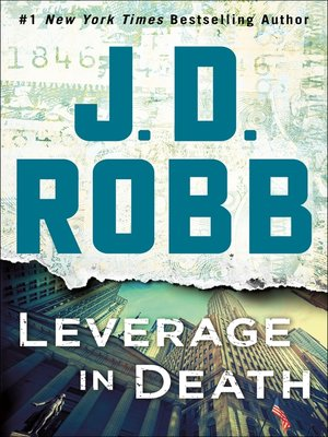 cover image of Leverage in Death--An Eve Dallas Novel