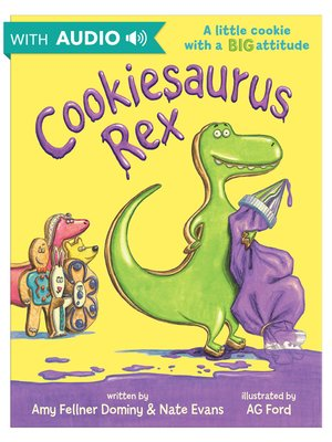 cover image of Cookiesaurus Rex