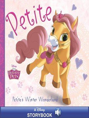 cover image of Petite's Winter Wonderland: A Disney Read-Along