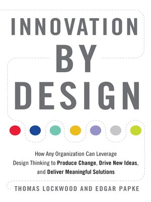 cover image of Innovation by Design